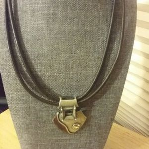 Chico's Brown Necklace in Modern Style